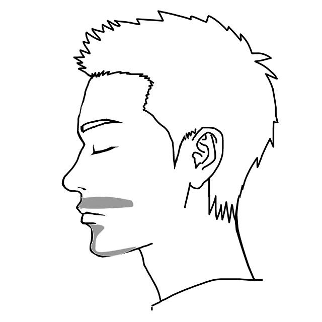デザインヒゲ脱毛-部分的にヒゲを残す
